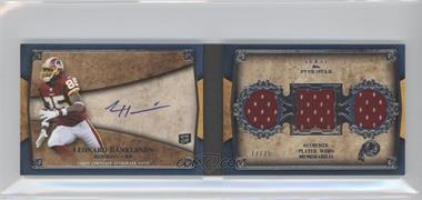 2011 Topps Five Star - Futures 3-Piece Autographed Book #FSFA3-LH - Leonard Hankerson /25