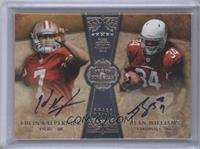 Colin Kaepernick, Ryan Williams /20