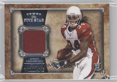 2011 Topps Five Star - Patch Relics #FSP-RW - Ryan Williams /40