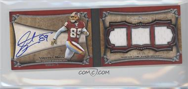 2011 Topps Five Star 3-Piece Signature Book #FSSB-SM - Santana Moss /25