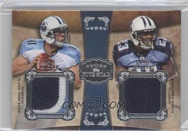 2011 Topps Five Star Dual Patch #FSDP-LH - Jake Locker, Jamie Harper /15