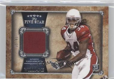 2011 Topps Five Star Patch Relics #FSP-RW - Ryan Williams /40