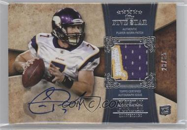 2011 Topps Five Star #153 - Christian Ponder /65