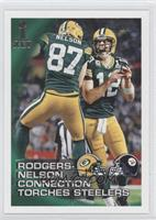 Rodgers-Nelson Connection Torches Steelers