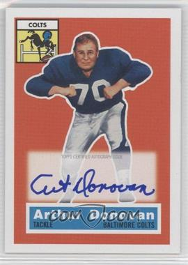 2011 Topps Gridiron Legends - 1956 Topps Reprint Autographs #36 - Art Donovan