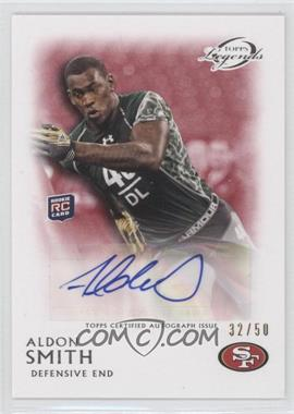 2011 Topps Gridiron Legends - Rookie Autographs - Red #RA-AS - Aldon Smith /50