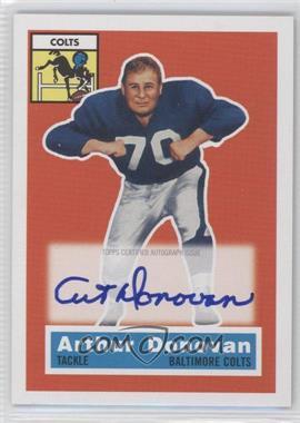2011 Topps Gridiron Legends 1956 Topps Reprint Autographs #36 - Art Donovan