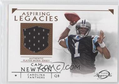 2011 Topps Gridiron Legends Aspiring Legacies Relics #ALR-CN - Cam Newton