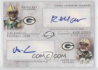 Randall Cobb, Alex Green /25