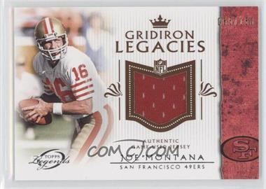2011 Topps Gridiron Legends Gridiron Legacies Relics #GLR-JM - [Missing] /150