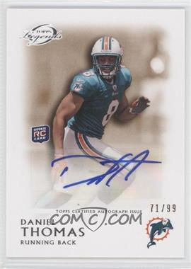 2011 Topps Gridiron Legends Rookie Autographs Bronze #RA-DT - Daniel Thomas /99