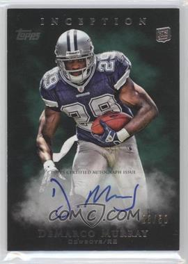2011 Topps Inception - [Base] - Green #117 - DeMarco Murray /50