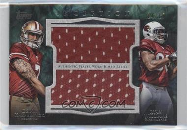 2011 Topps Inception - Dual Rookie Jumbo Relics #DJR-KW - [Missing] /15