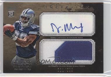 2011 Topps Inception - Rookie Autographed Jumbo Patch #AJP-DM - DeMarco Murray /599
