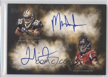 2011 Topps Inception Dual Rookie Autographs #DA-IJ - Mark Ingram /25