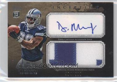 2011 Topps Inception Rookie Autographed Jumbo Patch #AJP-DM - DeMarco Murray /500