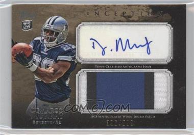 2011 Topps Inception Rookie Autographed Jumbo Patch #AJP-DM - DeMarco Murray /599
