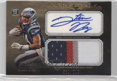2011 Topps Inception Rookie Autographed Jumbo Patch #AJP-SR - Stevan Ridley /599