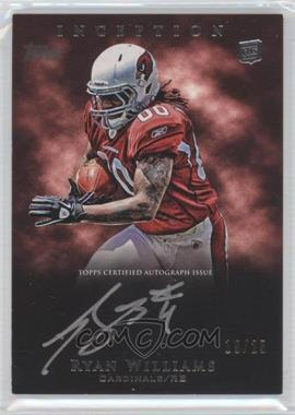 2011 Topps Inception Rookie Silver Signings #SS-RW - Ryan Williams /25