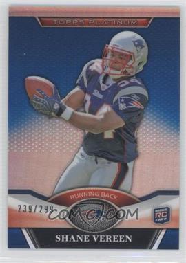 2011 Topps Platinum Blue Refractor #14 - Shane Vereen /299