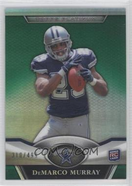 2011 Topps Platinum Green Refractor #114 - DeMarco Murray /499