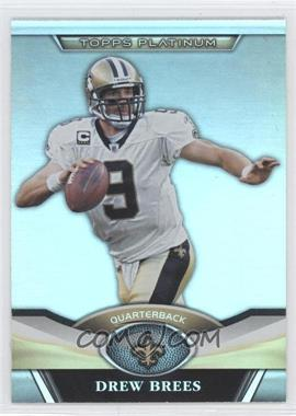 2011 Topps Platinum #130 - Drew Brees