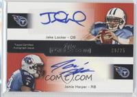 Jake Locker, Jamie Harper /25