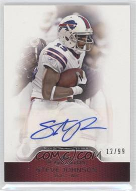 2011 Topps Precision Autographs Veteran Red #PCVA-SJ - Steve Johnson /99