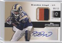 Brandon Lloyd /15