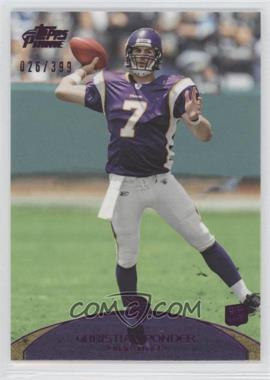 2011 Topps Prime - [Base] - Purple #61 - Christian Ponder /399