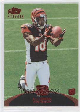2011 Topps Prime - [Base] - Red #31 - A.J. Green /499