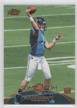 2011 Topps Prime - [Base] - Retail Bronze #83 - Blaine Gabbert