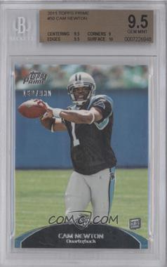 2011 Topps Prime - [Base] #50 - Cam Newton /930 [BGS9.5]