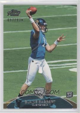 2011 Topps Prime - [Base] #83 - Blaine Gabbert /930