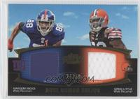 Hakeem Nicks, Greg Little /50