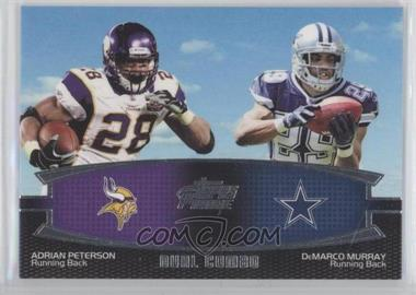 2011 Topps Prime - Dual Combo #DC-PM - Adrian Peterson, DeMarco Murray