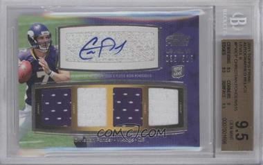 2011 Topps Prime - Level VI Autographed Relic #PVI-CP - Christian Ponder /515 [BGS9.5]