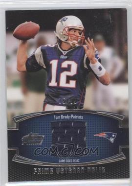2011 Topps Prime - Prime Veteran - Relics #PVR-TB - Tom Brady /99