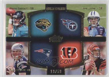 2011 Topps Prime - Quad Combo - Gold #QC-GLMD - Blaine Gabbert, Jake Locker, Ryan Mallett, Andy Dalton /50