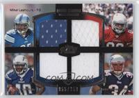 Ryan Williams, Jordan Todman, Shane Vereen, Mikel Leshoure /350