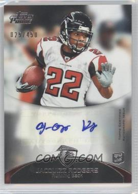 2011 Topps Prime - Rookie Autographs #29 - Jacquizz Rodgers /450