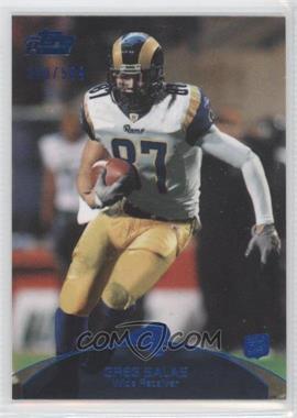 2011 Topps Prime Blue #54 - Greg Salas /599