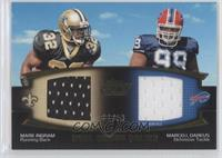 Mark Ingram, Marcell Dareus /50