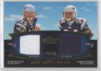 Ryan Mallett, Shane Vereen /50