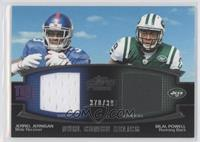 Jerrel Jernigan, Bilal Powell /398