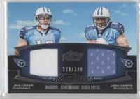 Jake Locker, Jamie Harper /398
