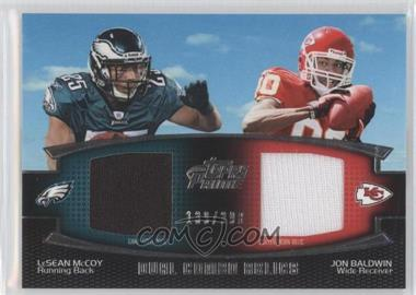 2011 Topps Prime Dual Combo Relics #DCR-MB - [Missing] /398