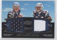 Ryan Mallett, Shane Vereen /398
