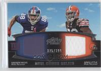 Hakeem Nicks, Greg Little /398