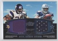 Adrian Peterson, DeMarco Murray /398